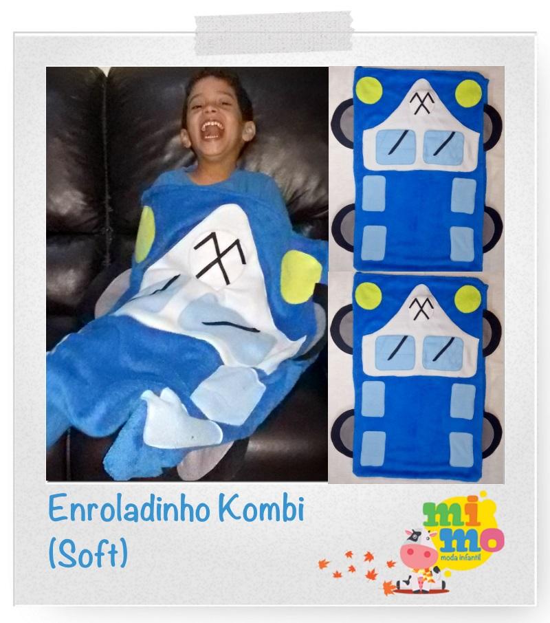 Enroladinho Kombi – Cobertinha Soft